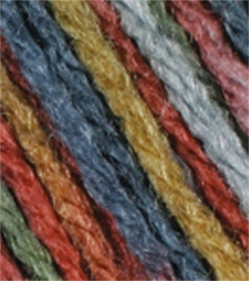 Red Heart Super Saver Yarn-Williamsburg Print