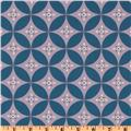 lilac purple blue sewing fabric Annette Tatum Boho Diamond